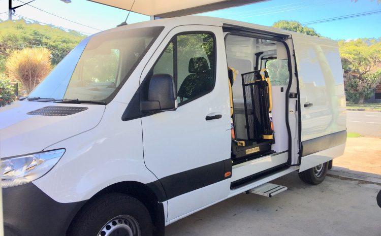 Custom built campervan