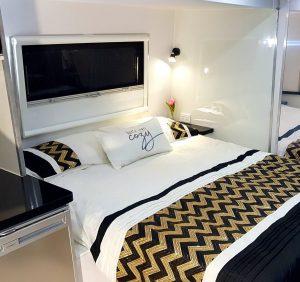 Motorhome bedroom
